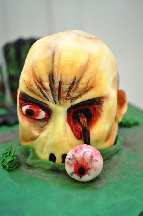 Zombie cake eyeball