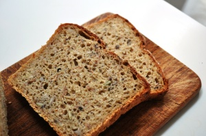 Multigrain, multiseed wholesome bread