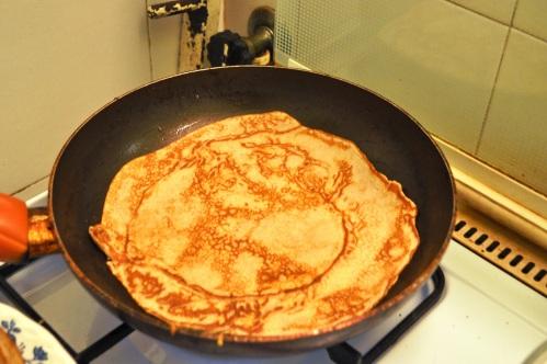 Chestnut pancake