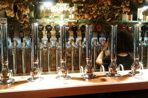 Brasserie 4:20 Rome, the bar