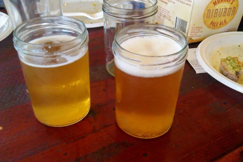 Take My Adweisse (left) and California Moonset (right) from Revelation Cat. In jars.