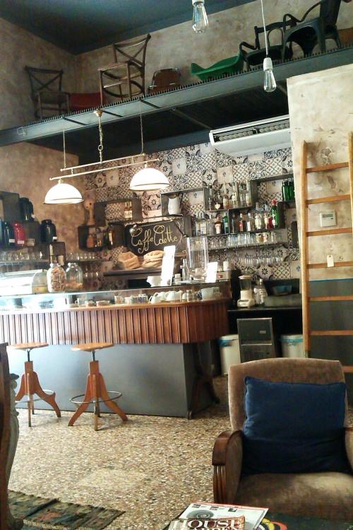 The bar at Zoc, Rome