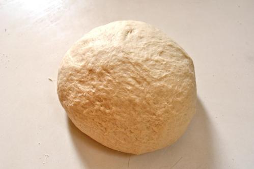 Dough, kneaded