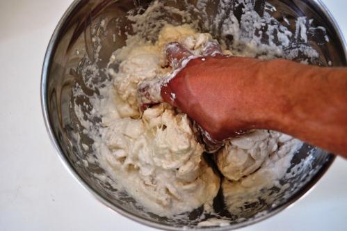 making a biga dough