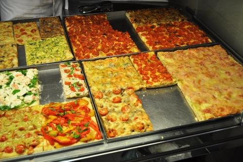 Pizza a taglio di Eligio Fattori, Viale di Villa Pamphili, Rome