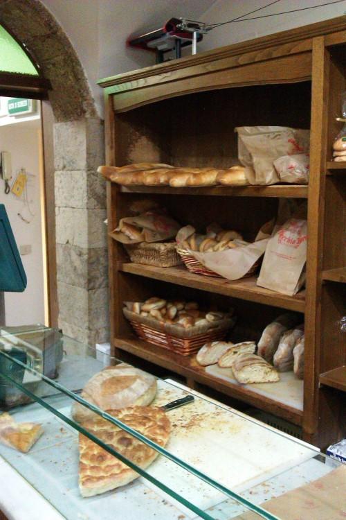 Bread at Il Vecchio Forno, Pescasseroli, Abruzzo