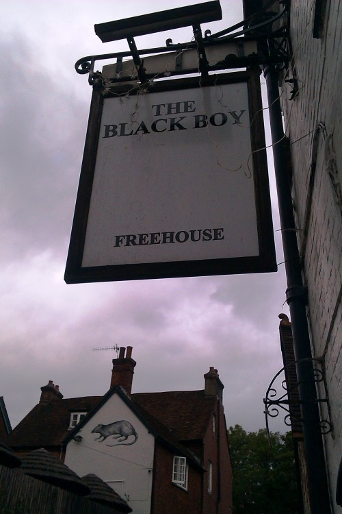 The Black Boy, Winchester