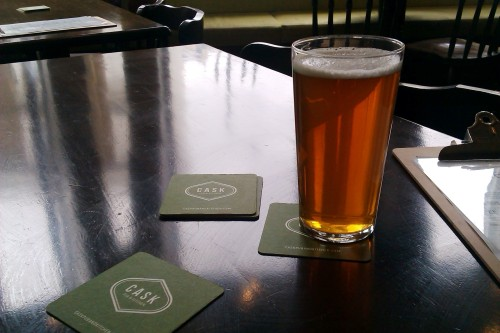 Tyne Bank Brewery's Pacifica Pale at the Cask, Pimlico, London
