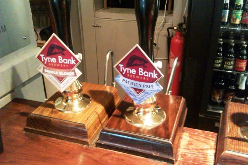 Tyne Bank beers at the Cask, Pimlico, London