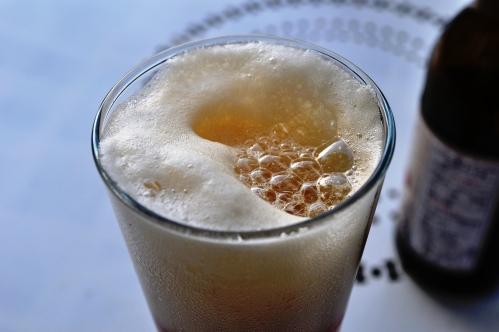 Steamer beer head