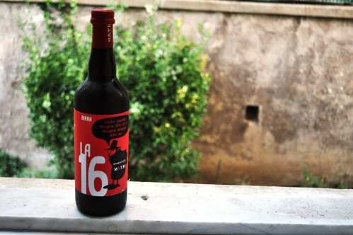 Birrificio Math La 16 bottle