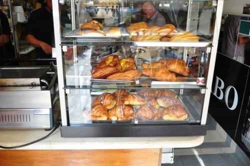 Case of pastries at Caffe Arabo, Trastevere, Rome