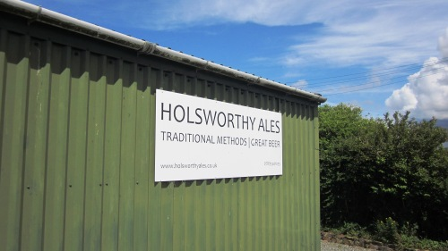 Holsworthy Ales, brewery, Clawton, near Holsworthy, Devon