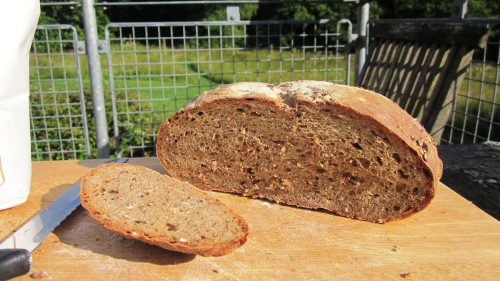 Malted wheat bread made with Wessex Cobber flour