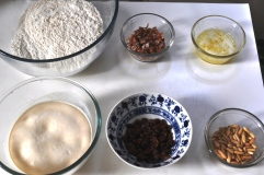 Maritozzi ingredients