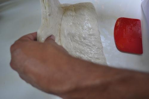 Pizz bianca, folding