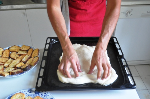 Pizza bianca recipe