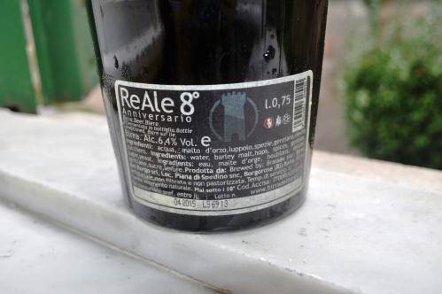 Birra del Borgo's ReAle 8 label