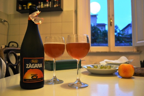 Zagara beer from Barley brewery