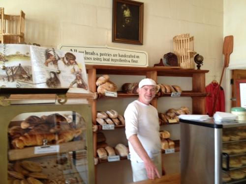 Master baker Ed Balsink at Harbour Street Bakery, Oamaru