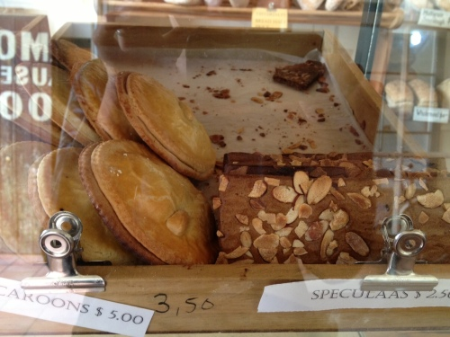 Speculaas at Harbour Street Bakery, Oamaru