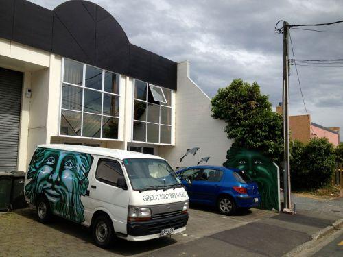 Green Man brewery, Dunedin