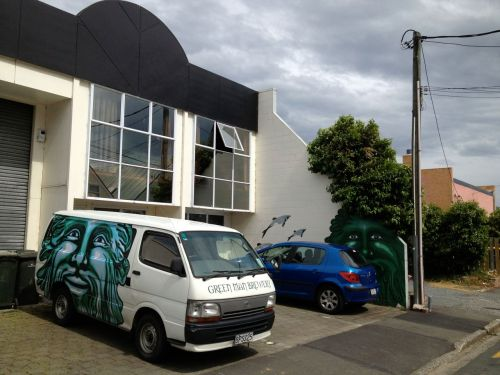 Green Man brewery, Dunedin