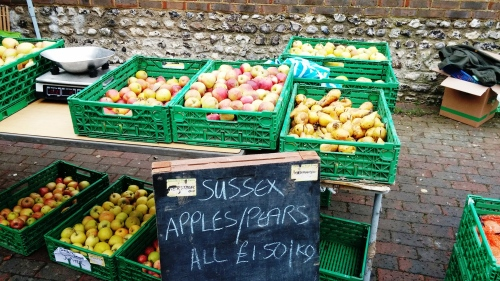 Apples, Lewes Friday market