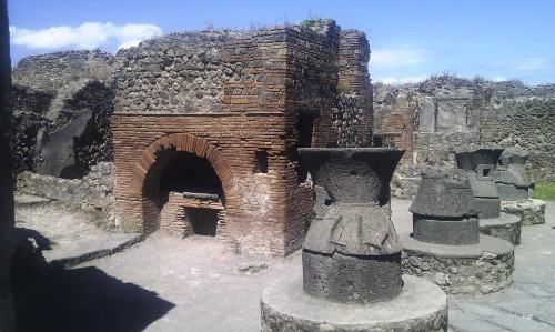 Bakery of Modestus, Pompeii