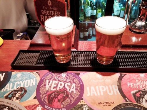 Thornbridge's Jaipur and Chiron