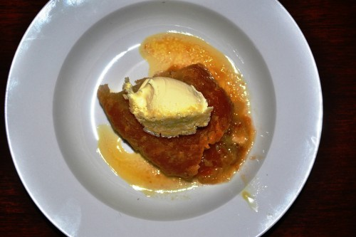 Sussex pond pudding with clotted cream