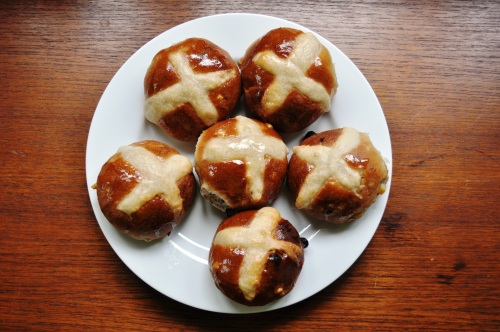 Hot cross buns 2014