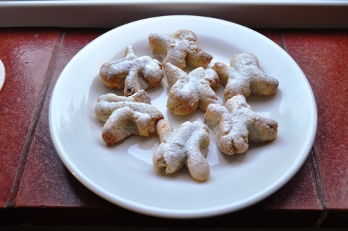 Sicilian almond pastries, biscuits