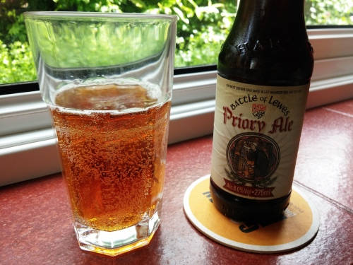 Harveys Priory Ale, 11 May 2014