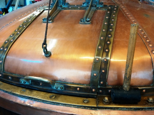 Harveys copper mash tun