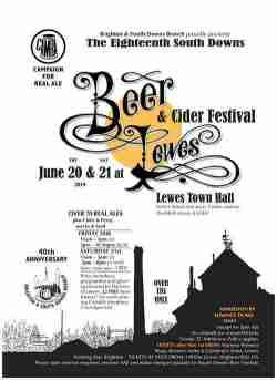 South Downs Beer Festival 2014 Poster