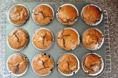 Muffins, baked