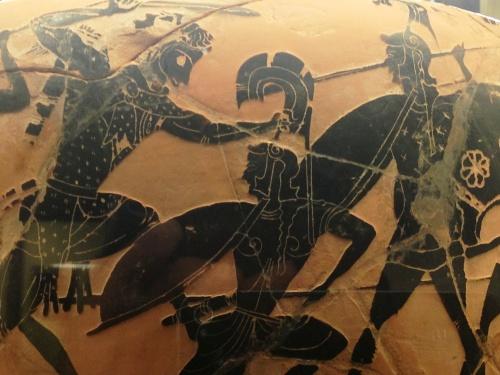 Etruscan pot, Cerveteri museum
