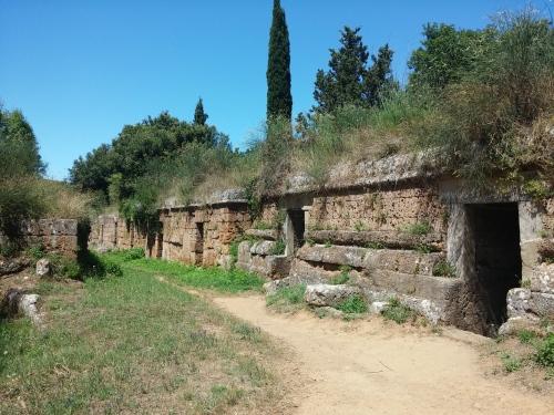 Terraced tombs, Banditaccia, Cerveteri