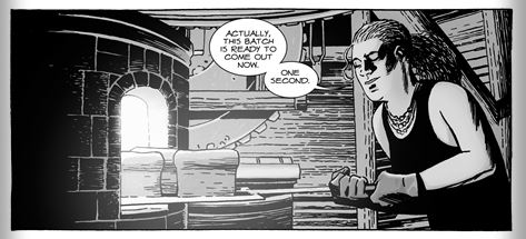The Walking Dead 128, bread fresh from the oven