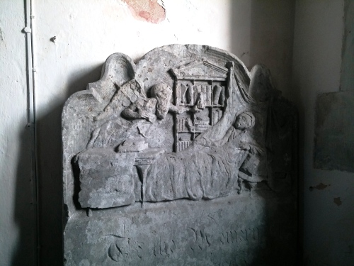 Angel of death visits scholar, Exton church