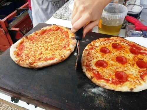 Hearth pizzas