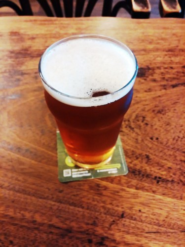 Long Man American Pale Ale at the Chequer Inn, Steyning