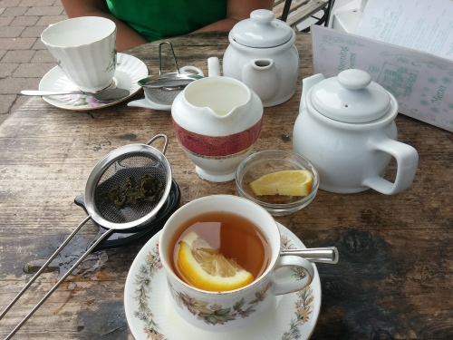 Tea at Steyning Tea Rooms