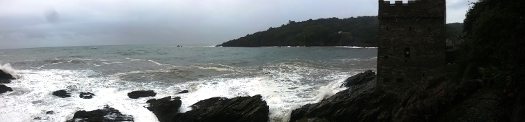 Kingswear Castle panorama