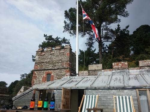 Mash and flag
