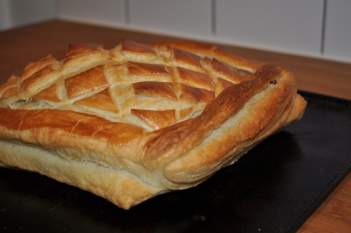 Dan Lepard puff pastry baked