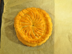 Pithivier, baked