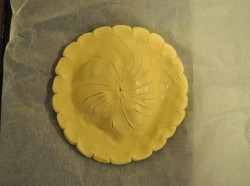 Pithivier, unbaked