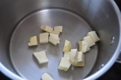 Butter and water